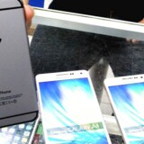 Apples iPhone 6 og den endnu større iPhone 6 Plus kom i handelen for snart trekvart år siden. Nu gøres der klar til efterfølgeren til september. Arkivfoto: David Chang, EPA/Scanpix