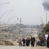 Arkivfoto: Det værste venter dem stadig, siger FN om fangede irakere i den vestlige del af Mosul, der er belejret af IS.