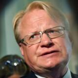 Forsvarsminister Peter Hultqvist (S)
