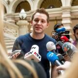 Den østrigske jurastuderende Max Schrems (billedet) anlagde sag mod Facebook for at have ført hans data fra Europa til USA. Det udløste grundskydningen af den 15 år gamle dataaftale med USA og indførelsen af en ny, som nu skal pudses færdig, samtidig med at EU ensarter og strammer sin egen datalovgivning. Arkivfoto: Christian Bruna, AFP/Scanpix