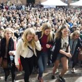 Nye studerende på Københavns Universitet sidste år.