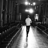 Ole Yde under forberedelser til show i Paris i 2015