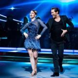 »Iben og Morten« - Iben Hjejle og dansepartneren Morten Kjeldgaard er blandt de 12 par, der danser for livet i »Vild med dans«.