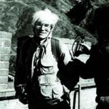 Andy Warhol på Den Kinesiske Mur. Vurdering: 120-180.000 Hong Kong Dollar eller hvad der svarer til mellem 100.000 kr og 160.000 kr.