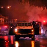 Mandag og tirsdag aften har der været demonstrationer i Tunesien. En skole er ramt under urolighederne.