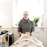 Freja Bechmann Jensen, kosmetikerelev. HUn er i praktik på wellnessklinikken Creme de la Creme i Helsingør.