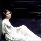 Prinsesse Leia spillet af Carrie Fisher.