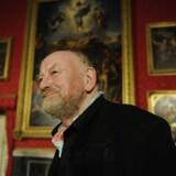 Kurt Westergaard vil have et et blankt papir med i en udstilling om blasfemi. AFP PHOTO / ODD ANDERSEN