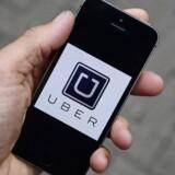 Arkivfoto. Uber argumenterer for, at EU's transportlove er forældede, og at de ikke gælder for Uber. Selskabet ser sig som en online serviceudbyder fremfor et transportfirma.