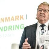 Landdistriktskonferencen 2015 på Sørup Herregård torsdag d. 23. april 2015. Forhenværende minister Niels Helveg Petersen taler på konferencen. (Foto: Niels Ahlmann Olesen/Scanpix 2015)