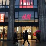 Arkivfoto: H&M i Berlin.