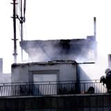 15 brandmænd på Sicilien er anholdt under mistanke om at have startet brande for at modtage bonusser. Scanpix/Bax Lindhardt/arkiv