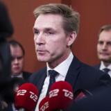 ARKIVFOTO: Kristian Thulesen Dahl ankommer til statusmøde med blå blok i Statsministeriet torsdag d. 14. december 2017..