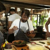 René Redzepi og Thomas Frebel, fotograferet under Nomas pop up i Mexico