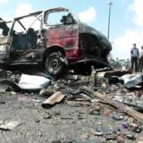 Arkivfoto. Mindst 15 civile er blandt de dræbte, da Islamisk Stat angreb to regeringskontrollerede landsbyer i Syrien.
