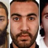 En af angrebsmændende fra attentatet på London Bridge, Khuram Shazad Butt (yderst til venstre), menes at være blevet radikaliseret efter at have fulgt en islamistisk iman på Youtube. De øvrige angrebsmænd på billedet er Youssef Zaghba og Rachid Redouane.