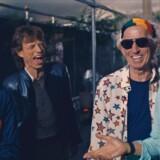 Fortiden har budt på mange interne slagsmål i The Rolling Stones, men nu hvor d'herrer har rundet de 70 år, hersker tilsyneladende lutter idyl. Stillfoto fra »The Rolling Stones: Olé, Olé, Olé!: A Trip Across Latin America«.