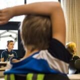 På Hotherskolen på Stevns blandes elever fra alle samfundslag. På fotoet ser man eleverne i 3.B blive undervist i historie.