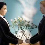 Arkivfoto. En finsk lov om ægteskab mellem homoseksuelle, der blev vedtaget i 2014, træder endeligt i kraft 1. marts.