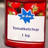 Arkivfoto: Ketchup i Kvickly.