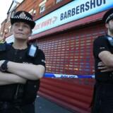 Arkivfoto. Hjemløs bestjal kvinde, hvis barnebarn lå døende efter bombeangreb ved koncert i Manchester i maj.