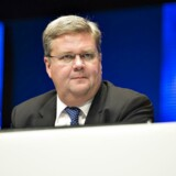 Vestas-topchef Anders Runevad er en af flere mulige kandidater til topposten i det svenske netværksselskab Ericsson.