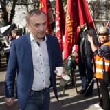 Michael Ziegler foran Forligsinstitutionen på Sankt Annæ Plads i København. (Foto: Nils Meilvang/Ritzau Scanpix)