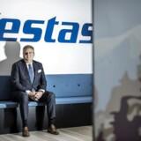 Vestas' topchef Anders Runevad kan se tilbage på et rekordår