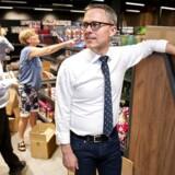 Netto-direktør Michael Løve fotograferet i den næsten færdigbyggede testbutik på Amager i sidste uge. Butikken bliver skabelon for, hvordan alle Nettos butikker vil komme til at se ud i fremtiden.