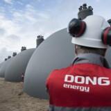 Arkivfoto: Goldman Sachs sætter Dong-aktier for milliarder til salg Investeringsbanken Goldman Sachs vil reducere ejerandel i Dong Energy til under fem procent med nyt udsalg.Se RB kl.20.38 d. 08.05.2017 ARKIVFOTO 2010 af DONG Energy i Fredericia- - Dong Energy kommer i morgen d. 27. april 2017 med regnskab for de første tre måneder af 2017. . (Foto: Claus Fisker/Scanpix 2017)