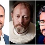 "Berlingskes anmelder Jakob Steen Olsen, Lars Mikkelsen i ""Herrens veje"" og ugens gæsteanmelder imam Naveed Baig."