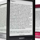 Sonys e-bogslæser, Reader, bliver nu ikke længere videreudviklet, men man kan stadig købe den seneste, PRS-T3. Foto: Sony