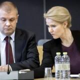 Daværende statsminister Helle Thorning-Schmidt (S) og finansminister Bjarne Corydon (S). (Foto: Keld Navntoft/Scanpix 2014)