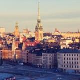 Arkivfoto. Voldsomt drab på to unge mænd på klos hold kan være en del af en bandekonflikt, siger svensk politi.