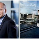 Der er kold luft mellem Telenors topchef, Sigve Brekke (til venstre), og bestyrelsesformand Gunn Wærsted. Arkivfoto: Telenor og Linda Kastrup, Scanpix