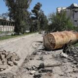 Billede fra Mosul, Irak.