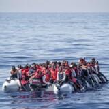 Arkivfoto. Mere end 2800 personer er omkommet, mens de i år har forsøgt at krydse Middelhavet