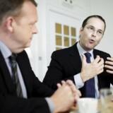 Sveriges finansminister Anders Borg på besøg i København, hvor han blandt andet mødte Venstres Formand Lars Løkke Rasmussen, og deltog i med til en vækstkonference arrangeret af Venstre.
