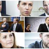 Mette Frederiksen slår Løkke. Morten Østergaard og Pia Olsen Dyhr slår de øvrige blå partiledere. Men manden til højre for Mette Frederiksen i toppen af billedet slår alle. Danskerne vurderer Nicolai Wammen som den mest troværdige toppolitiker.