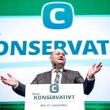 Lørdag d. 23. september 2017 - De Konservatives landsråd 2017 i Tivolis Hotel & Congress Center. Her er det Søren Pape på talerstolen.(Foto: Bax Lindhardt/Scanpix)