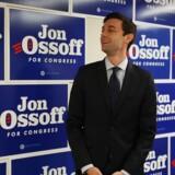 Jon Ossoff, Demokraternes 30-årige kandidat til den ledige plads i Repræsentanternes Hus, håber at kunne fravriste Republikanerne pladsen, som de har siddet på siden 1979. Scanpix/Joe Raedle