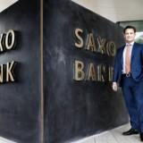 Direktør og ejer af Saxo Bank, Kim Fournais. Banken kan torsdag fremvise et halvårsregnskab med solid vækst på bundlinjen.