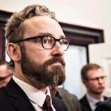 Transportminister Ole Birk Olesen (LA) var tirsdag den 14. marts 2017 til et møde om PostNords økonomiske krise og skulle overbevise partierne i postforligskredsen om, at de fortsat kunne have tillid til ham.
