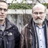 ARKIVFOTO 2014 af Jan Olsen (tv) og Jens Weise Olesen, embedsmænd fra Udlændingestyrelsen.