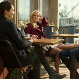 "Hvem bliver myrdet? Hvem myrder? Det er stadig en gåde i den stjernebesatte HBO-serie ""Big Little Lies"" med Shailene Woodley, Reese Witherspon og Nicole Kidman. Foto: HBO."