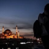 Danske kunstnere kan ikke længere få et cultural recidency i Istanbul. AFP PHOTO / OZAN KOSE