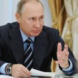 Ruslandes ledelse: Beskyldninger om, at syriens militær begik kemisk angreb er ikke baseret på kendsgerninger. (Sputnik/Kremlin/Michael Klimentyev via REUTERS)