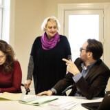 Sys Rovsing har etableret kontor med to af sine tre børn: Advokat Mette Sheraz Rovsing og advokatfuldmægtig Troels Rovsing Koch. Foto: Sofie Mathiassen