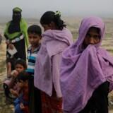 ARKIVFOTO: Flygtningelejr nær Bangladesh