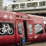 Flintholm Station. S-tog, busser og metro.